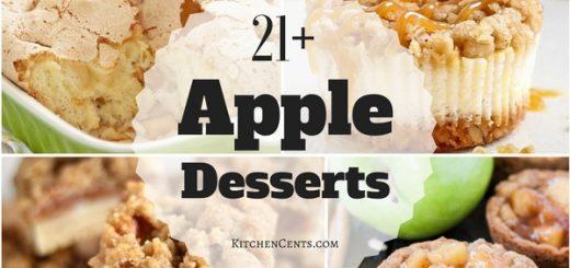 21+ Apple Desserts   KitchenCents.com