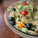 Easy Garden Fresh Italian Herb Summer Pasta Salad   Kitchen Cents