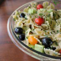 Easy Garden Fresh Italian Pasta Salad
