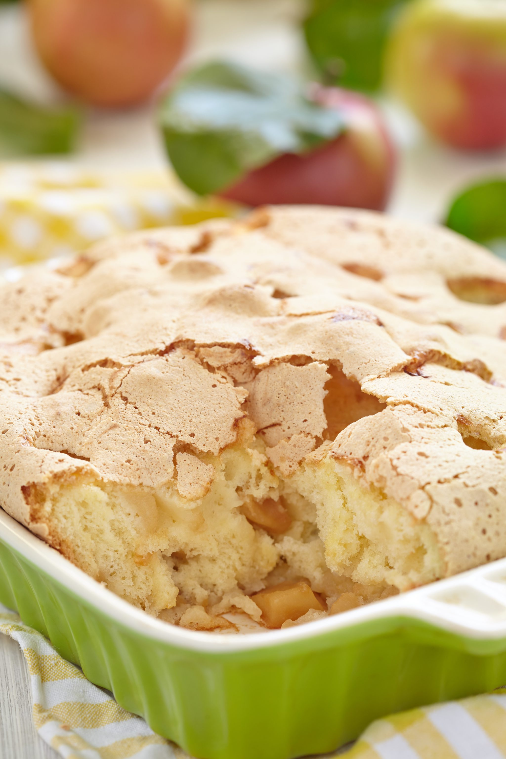 Skinny Apple Cake | 21+ Apple Desserts