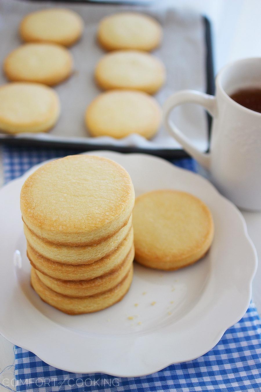 3-Ingredient Shortbread Cookies | 21+ 5-Ingredients or Less Desserts