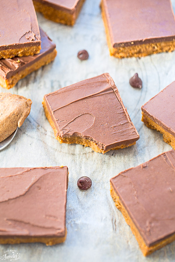 5-Ingredient No Bake Reeses Peanut Butter Bars | 21+ 5-Ingredients or Less Desserts