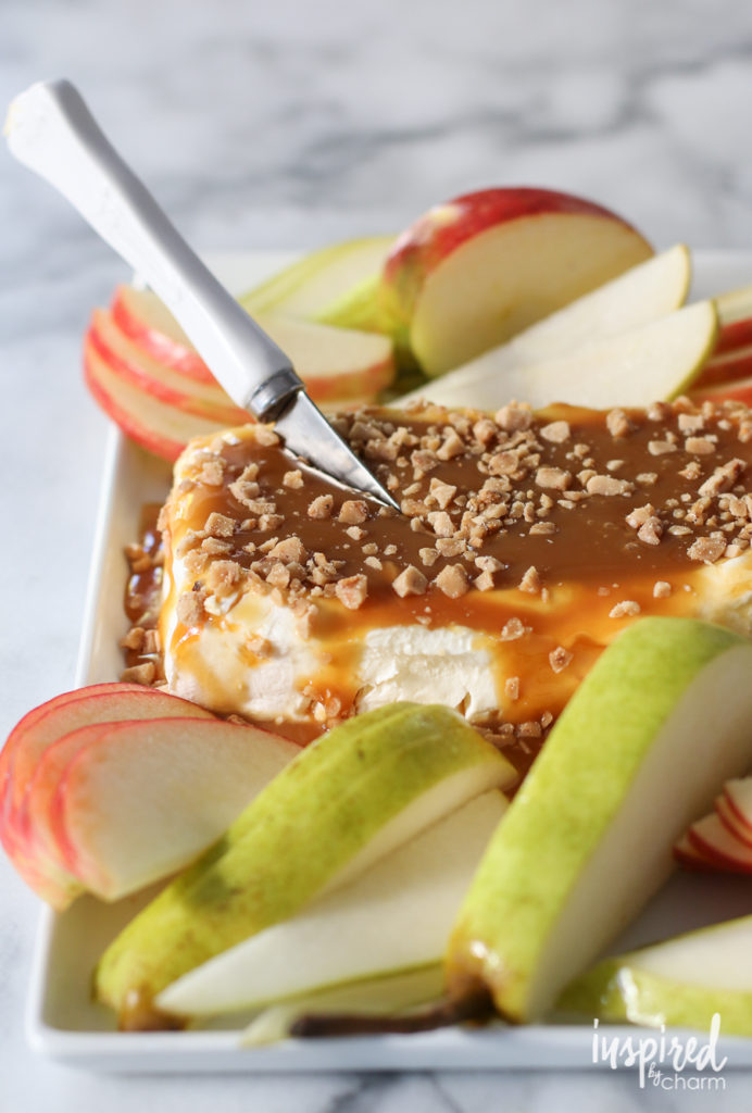 Caramel Apple Cream Cheese Spread | 21+ 5-Ingredients or Less Desserts