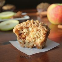 Easy Cinnamon Apple Streusel Muffins