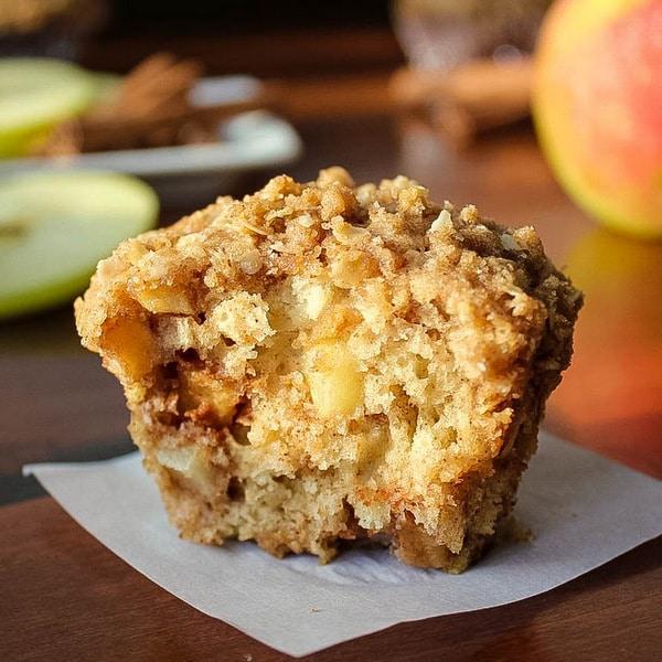 Cinnamon Apple Streusel Muffins | Kitchen Cents