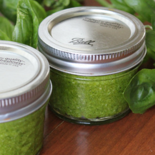 Easy 5-Minute Blender Basil Pesto | Kitchen Cents