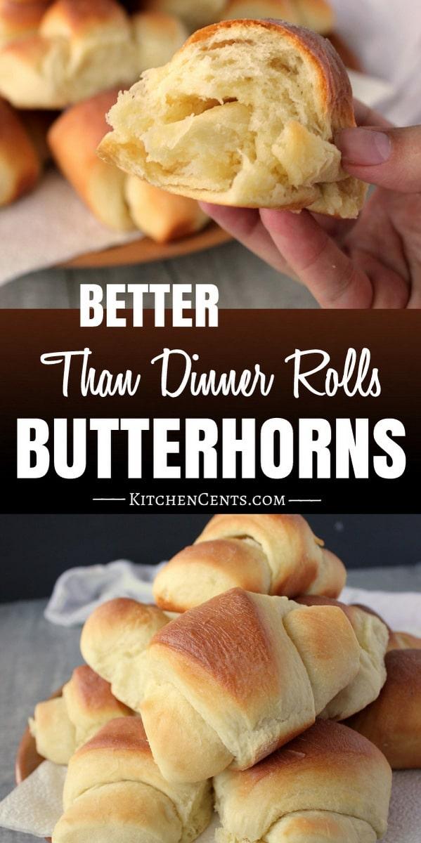 The Best Butterhorn roll recipe | Kitchen Cents