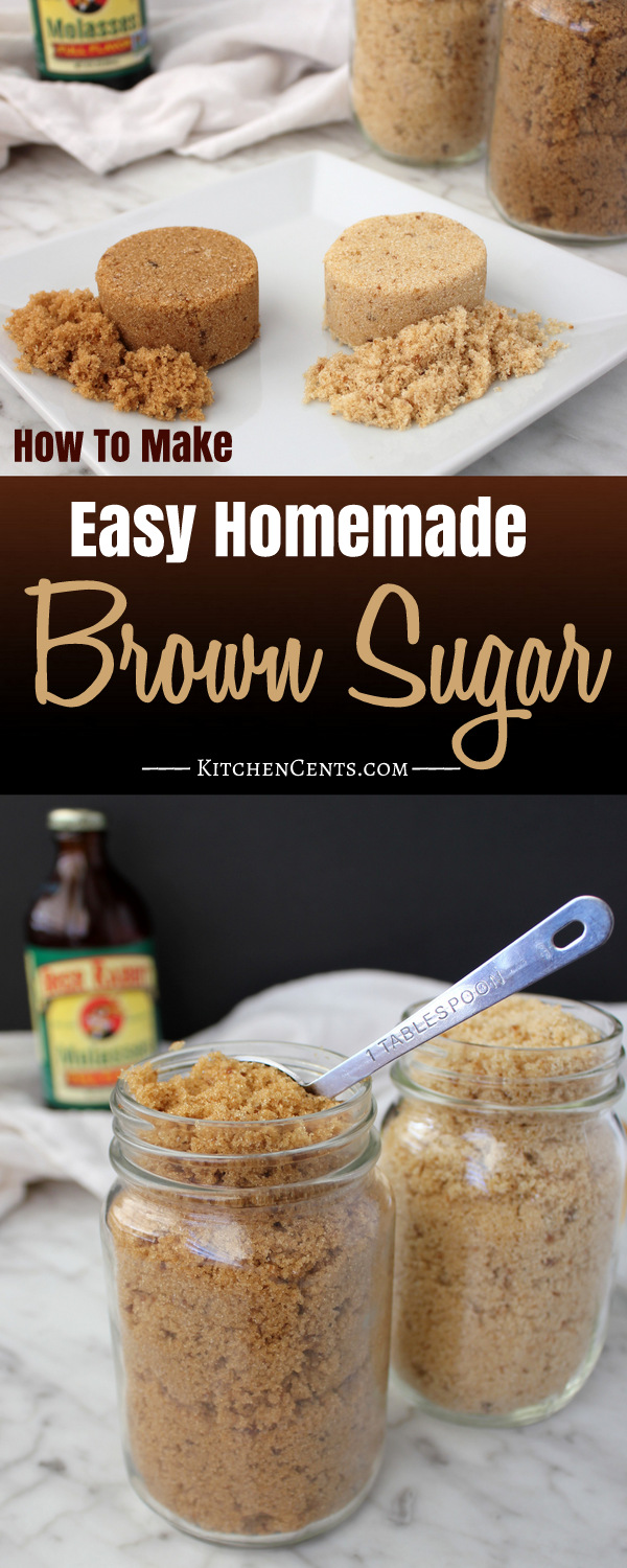 How To Make Homemade Brown Sugar