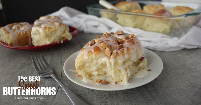 Sweet Butterhorns | Kitchen Cents