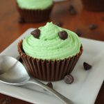 Mint Mousse Chocolate Cups