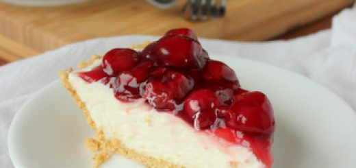 5-Minute Cherry Cheesecake | Kitchen Cents