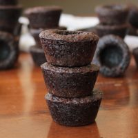 Mini Brownie Cups