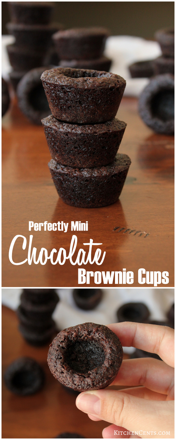 Perfectly Mini Chocolate Brownie Bites | Kitchen Cents