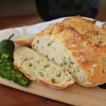 Easy Crusty No-Knead Jalapeno Dutch Oven Artisan Bread   Kitchen Cents