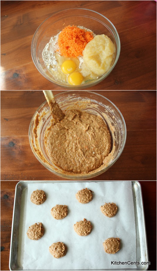Super Easy Carrot Cake Cookies | Kitchen Cents