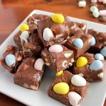 Easy, Quick 4-Ingredient Easter Fudge | Kitchen Cents