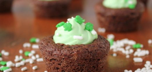 Andes Mint Mousse Brownie Cups | Kitchen Cents
