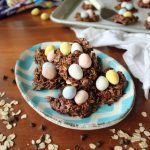 Chewy Chocolate No-Bake Nest Cookies