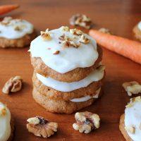 Easy Carrot Cake Cookies