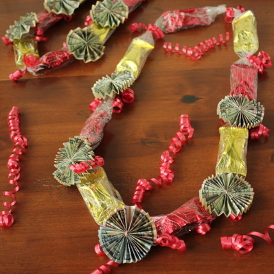 Super Easy Money Lei | Kitchen Cents