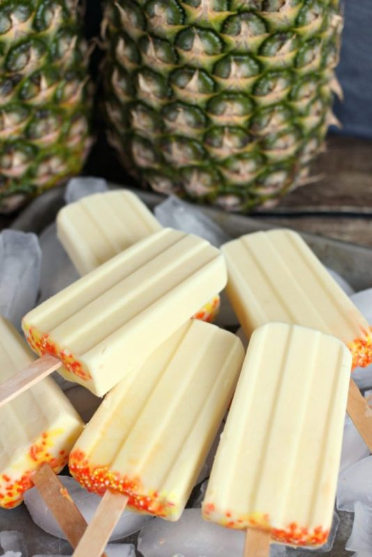 dole-whip-popsicles | 15+ Frozen Treats