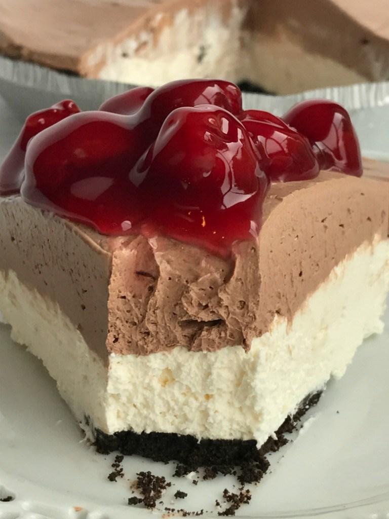 No-Bake Black Forest Cheesecake | 17+ No-Bake Cheesecake Recipes