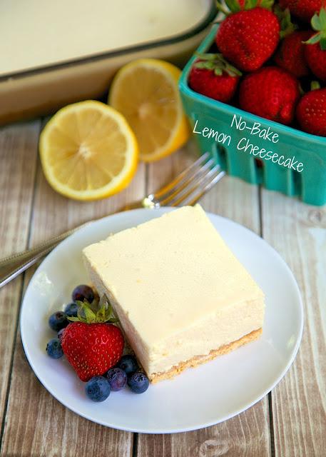 No-Bake Lemon Cheesecake | 17+ No-Bake Cheesecake Recipes