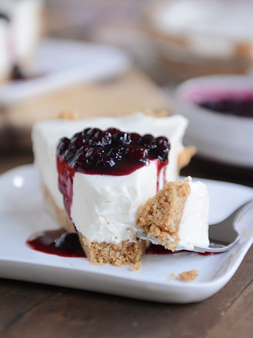 No-Bake Vanilla Cheesecake | 17+ No-Bake Cheesecake Recipes