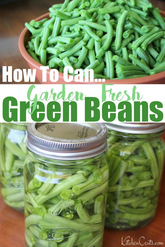 How to can fresh green beans | Kitchen Cents