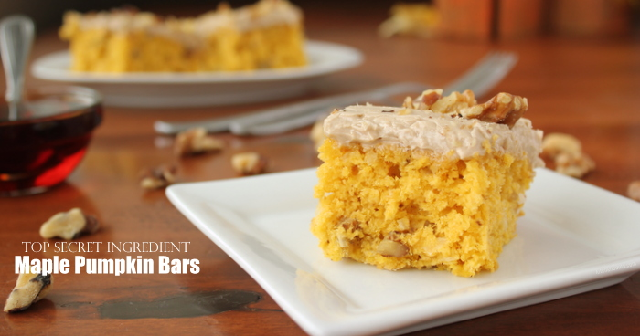 The BEST Nutty Maple Pumpkin Bars | Kitchen Cents