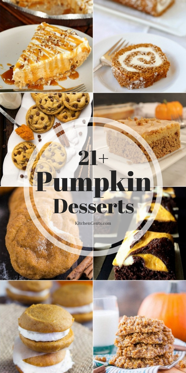 21+ Pumpkin Desserts | Kitchen Cents