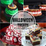 25+ Halloween Treats Kids Will Love