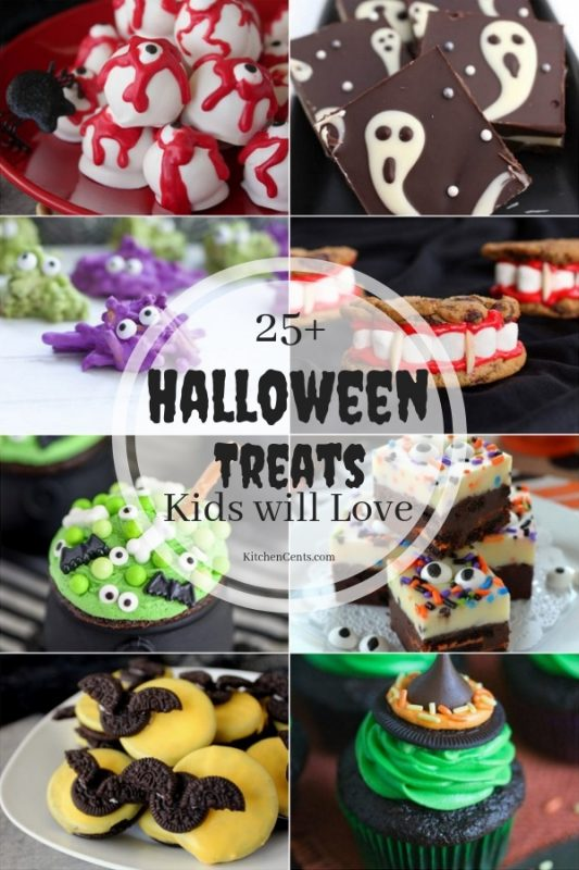25+ Halloween Treats Kids will Love | KitchenCents.com