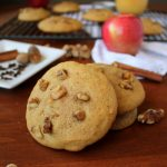 Moist Walnut Applesauce Cookies