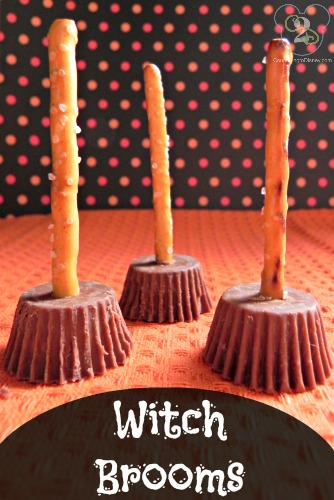 Witch Brooms | 25+ Halloween Treats Kids will Love