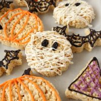 Easy Halloween Rice Krispie Treats