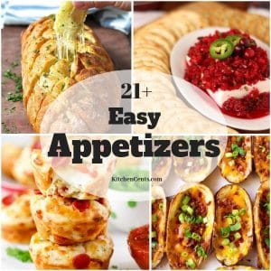21+ Easy Appetizers | Kitchen Cents
