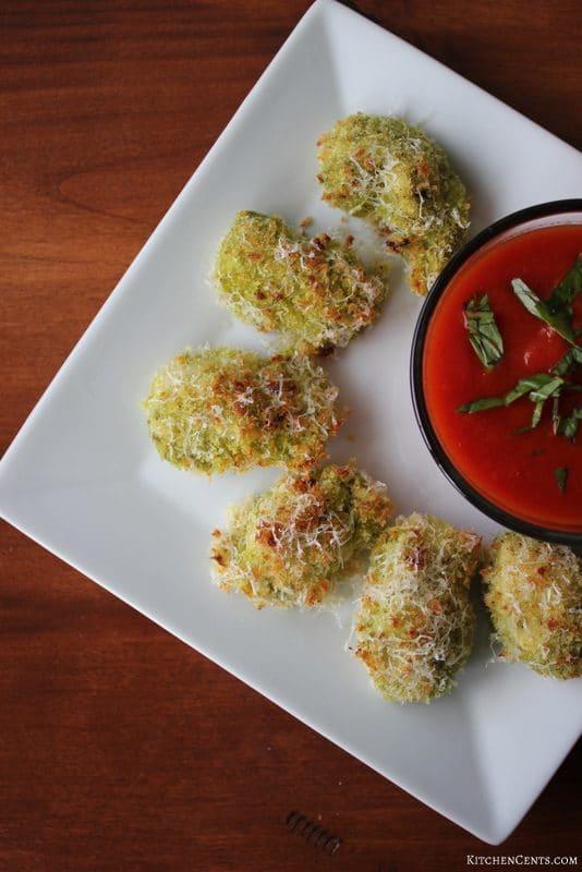 Baked Basil Pesto Chicken Bites | 21+ Easy Appetizers