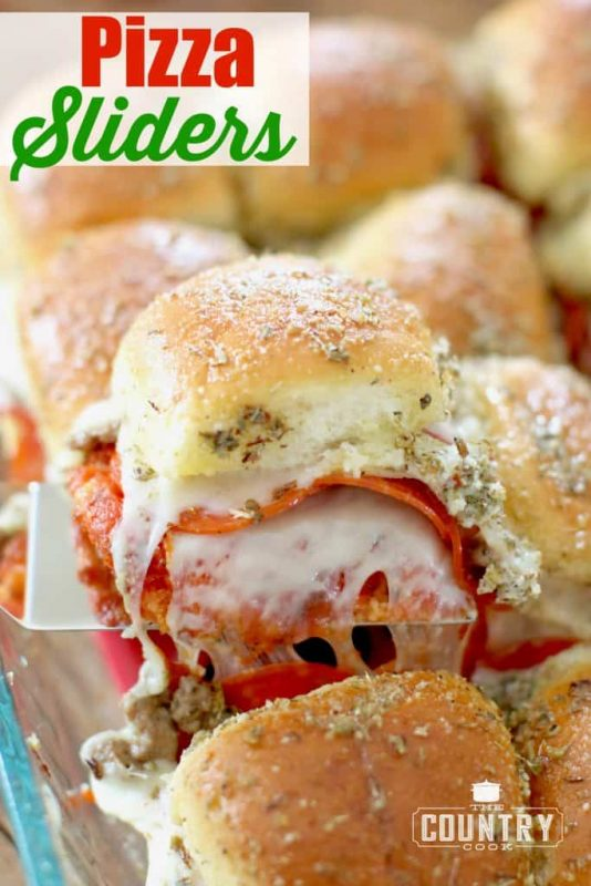 Easy Pizza Sliders | 21+ Easy Appetizers