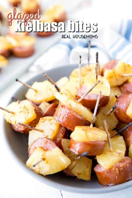 Glazed Kielbasa Bites | 21+ Easy Appetizers