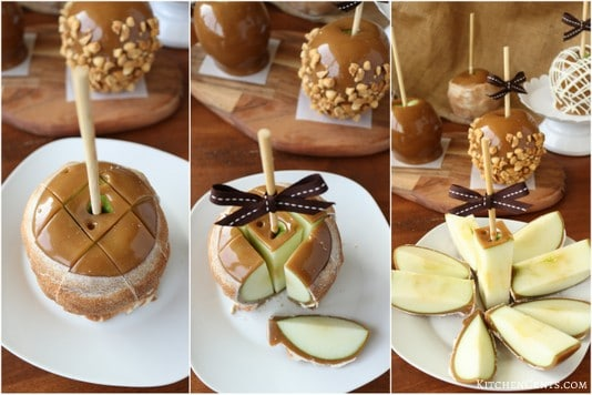 How to cut a caramel apple | Kitchen Cents