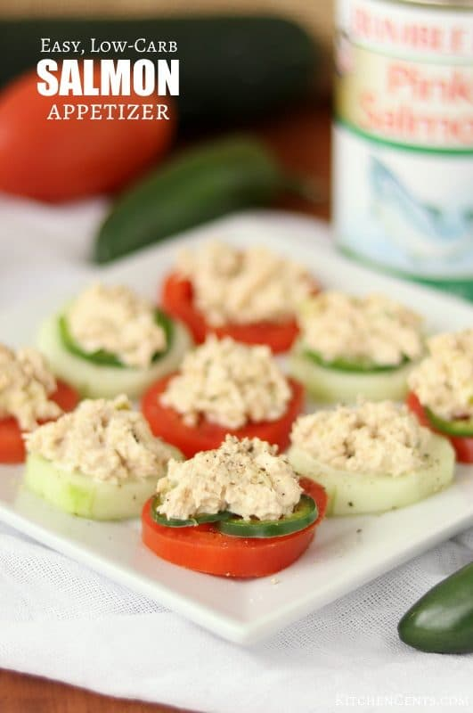 Quick and Easy Low-carb Creamy Easy Salmon Appetizer | Kitchen Cents