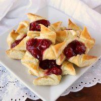 Cherry Cheesecake Pinwheels