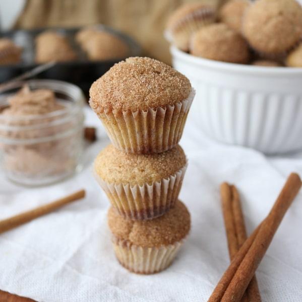 15-Minute Easy Mini Cinnamon Muffins | Kitchen Cents