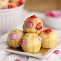 Valentine's Pancake Bites