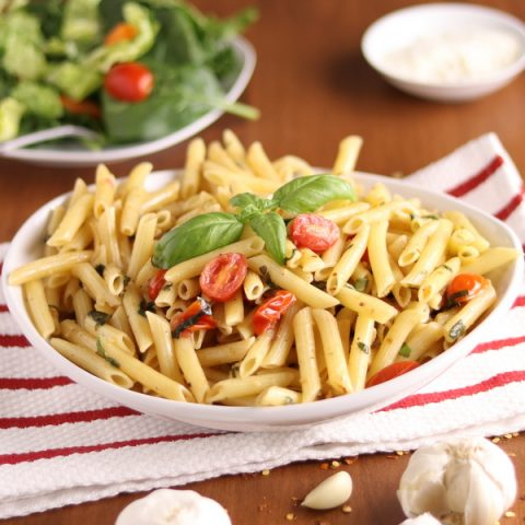 Browned Garlic Butter Pasta 20-minute meal | Kitchen Cents