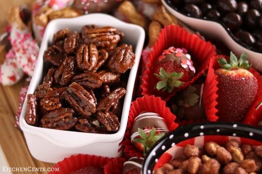 Easy Valentine's Dessert Charcuterie Tray | Kitchen Cents