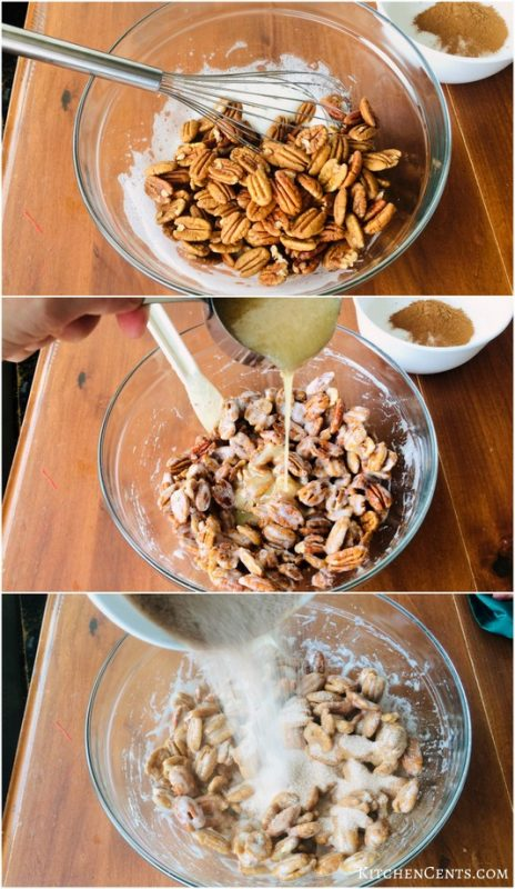How to make Honey Cinnamon Glazed Pecans