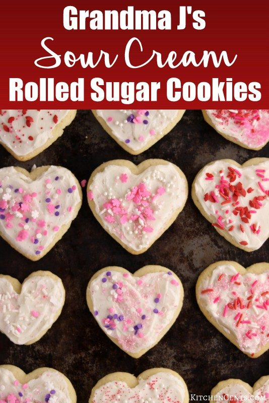 The BEST Rolled Sugar Cookies | Kitchen Cents