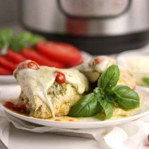 Instant Pot Basil Pesto Chicken | Kitchen Cents